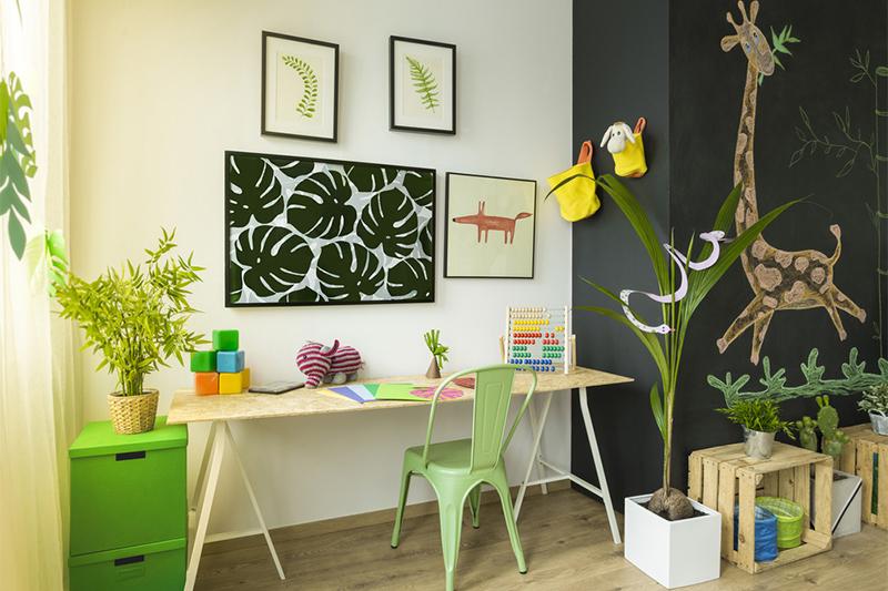 9 نکته مهم برای طراحی فضای مطالعه کودک و نوجوان | بامبینو