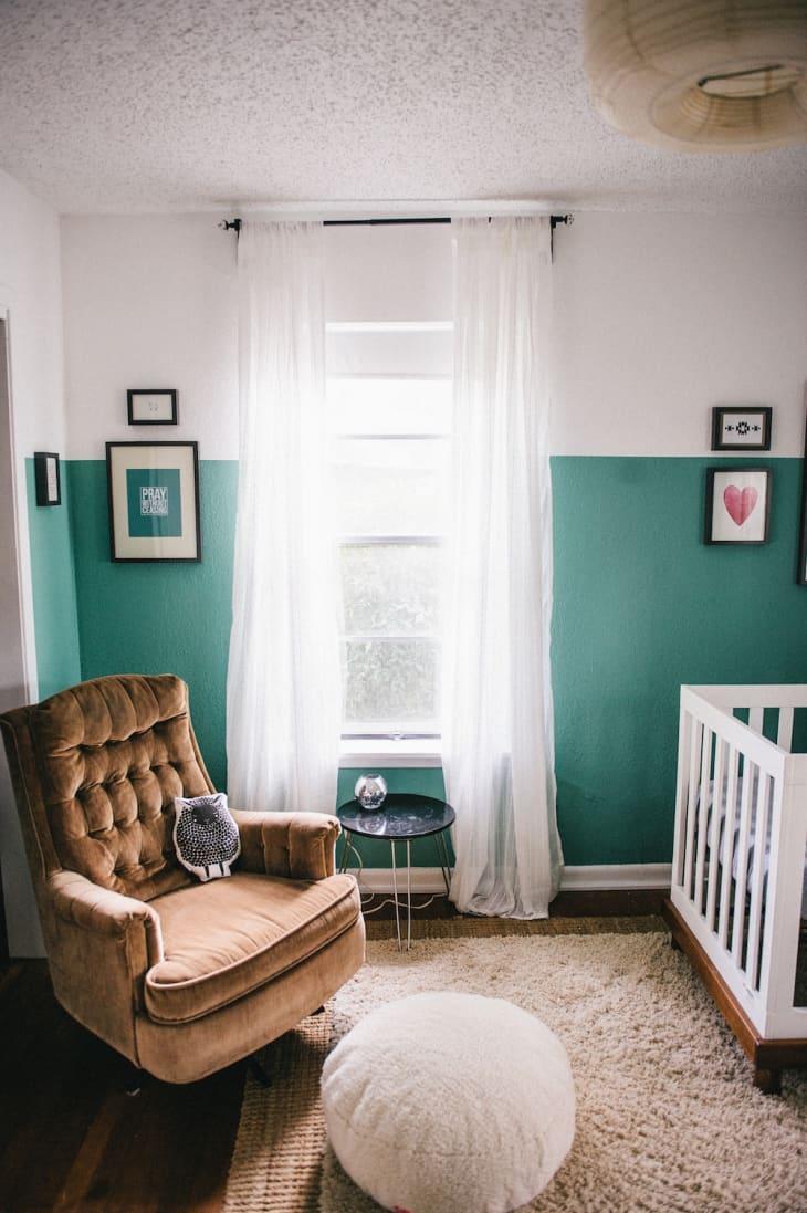 رنگ آمیزی اتاق نوزاد